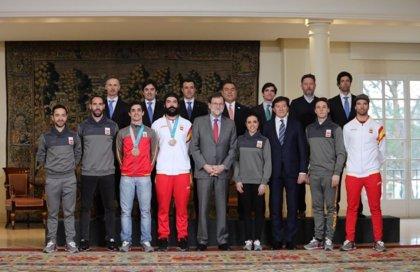 """Rajoy agradece el """"esfuerzo, trabajo y dedicación"""" de los olímpicos españoles en PyeongChang"""