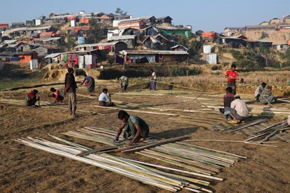 """La OIM avisa que hay una """"posibilidad real"""" de que haya muertes por el monzón en los campamentos rohingya"""