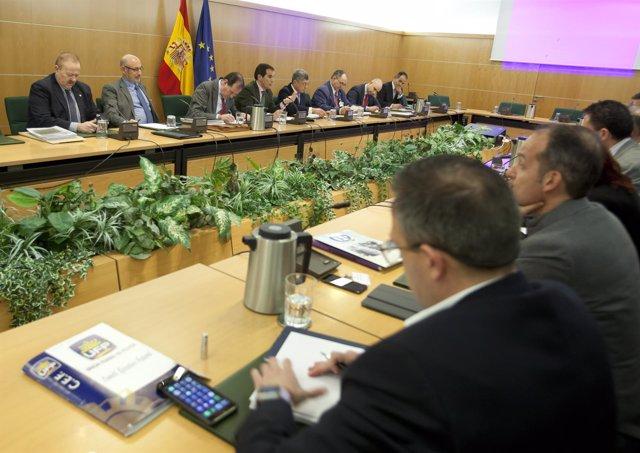 Reunión entre Interior y representantes de los sindicatos policiales