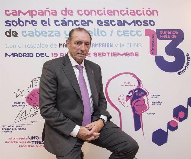 Enrique Castro Quini, exjugador de fútbol del Sporting y FC Barcelona
