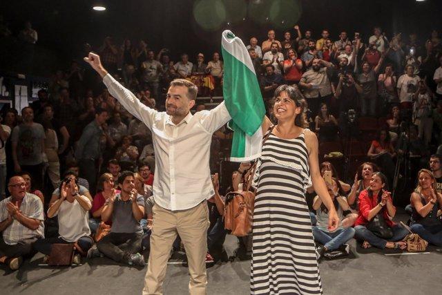 Maíllo y Rodríguez en el Teatro Salvador Távora