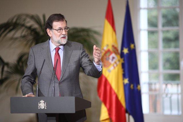 Declaraciones de Rajoy tras recibir al equipo español de los JJOO de Invierno