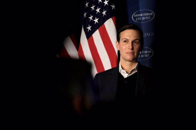 FILE PHOTO:    White House senior adviser Jared Kushner delivers remarks on the