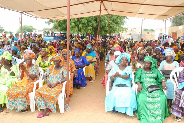 Mujeres participantes en este proyecto