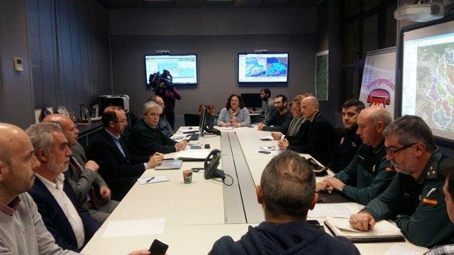 Reunión del Centro de Coordinación Operativa