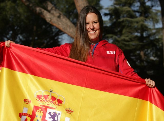 Astrid Fina, abanderada española en los Juegos Paralímpicos de PyeongChang