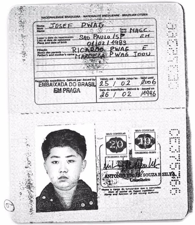 Pasaporte Kim