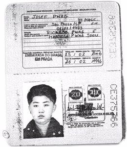 Pasaporte brasileño a nombre de Kim Jong Un