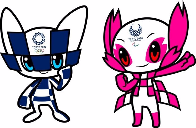 Mascota olímpicas para Tokyo 2020