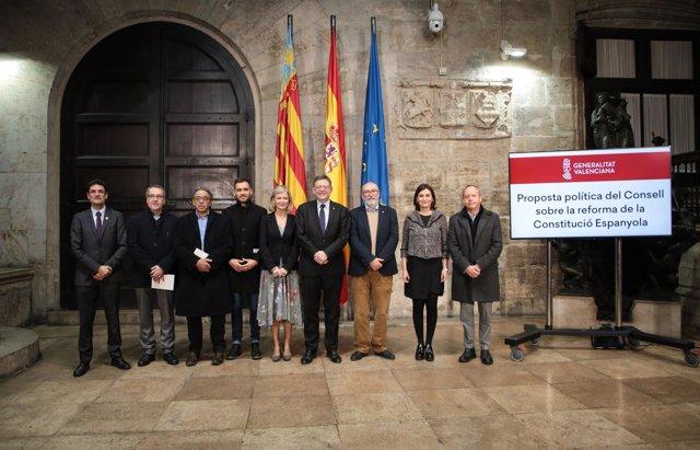 Presentación de la propuesta del Consell para reformar la CE