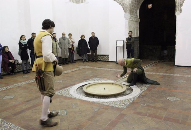 Visita teatralizada en el Real Alcázar de Sevilla
