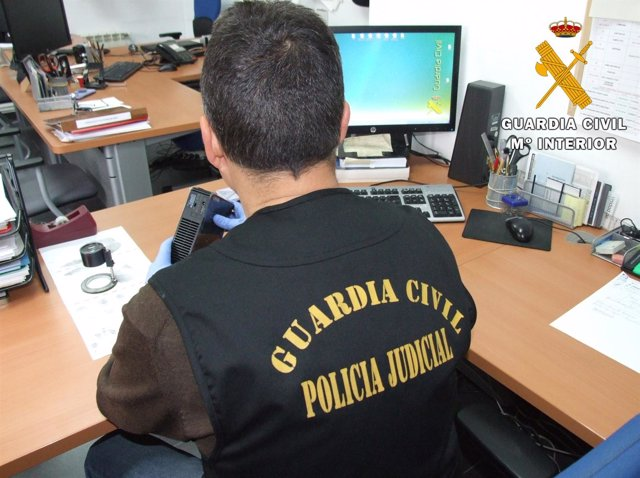 Estafa a través de Internet, Guardia Civil
