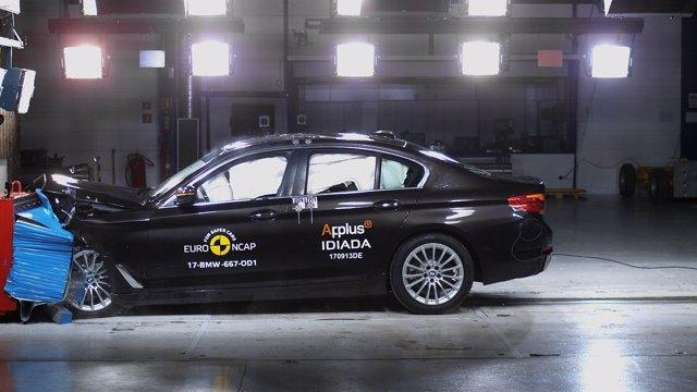 Test de impacto Euro NCAP del BMW Serie 5
