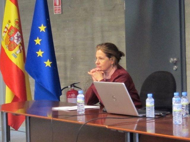 Vicepresidenta y consejera de Hacienda y Administración, Pilar Blanco-Morales