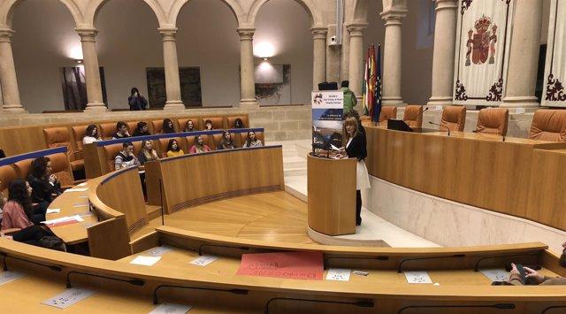 Debate sobre inmigración en el Parlamento riojano