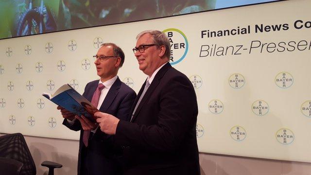 Werner Baumann y Johannes Dietsch (Bayer)
