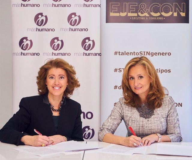 María Sanchez-Arjona y Nerea Torres