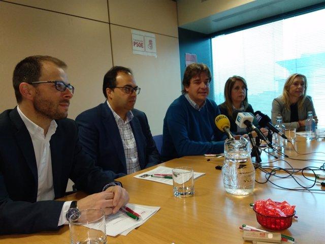 Alcaldes de Leganés y Fuenlabrada
