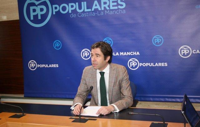 Gpp Clm (Cortes De Voz Y Fotografía) Lorenzo Robisco En Rueda De Prensa