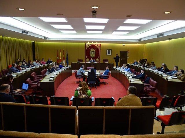 Pleno del Ayuntamiento de Albacete