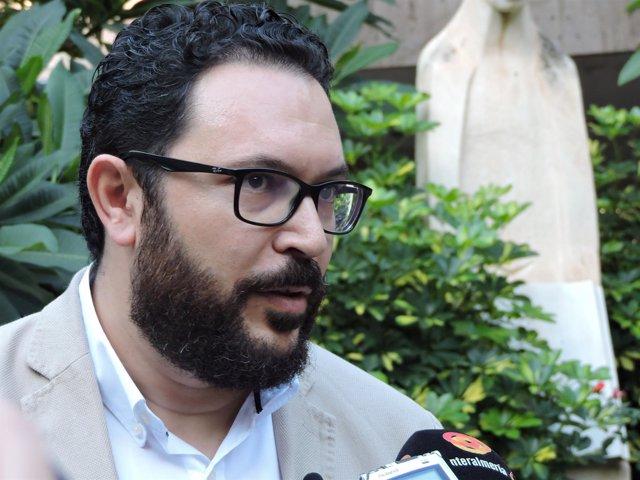 El concejal del PSOE en Almería Cristóbal Díaz