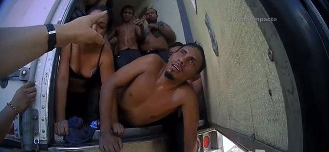 Rescate de inmigrantes hace dos años