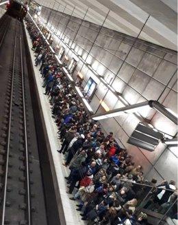 Retrasos en Metro Bilbao