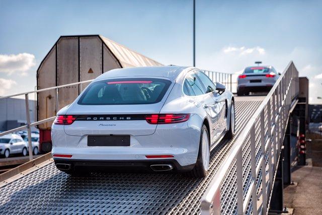 Transporte ecológico de Porsche