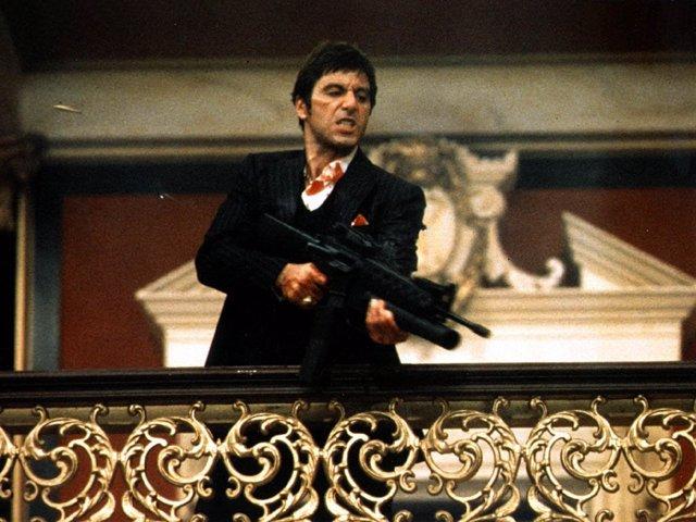 Scarface con Al Paccino la película con más palabrotas de la historia