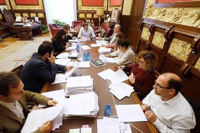 Reunión de la Junta de Gobierno de Valladolid
