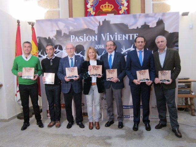 Presentación de la Pasión Viviente de Cáceres