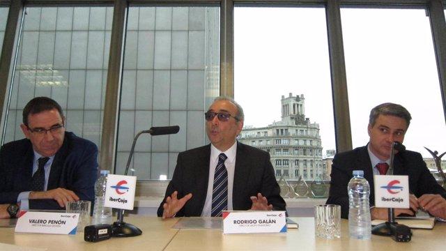 Valero Penón, Rodrigo Galán Y Óscar Del Diego, De Ibercaja