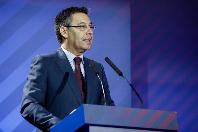 Josep Maria Bartomeu asamblea Barcelona