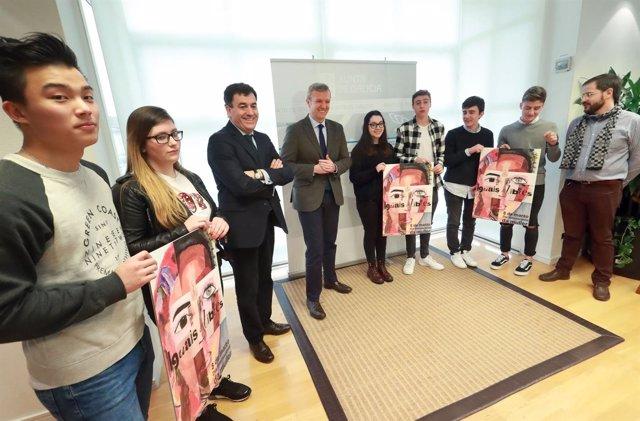 Concurso del cartel campaña 8 de marzo de la Xunta