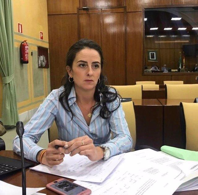 La diputada del PP-A Aránzazu Martín
