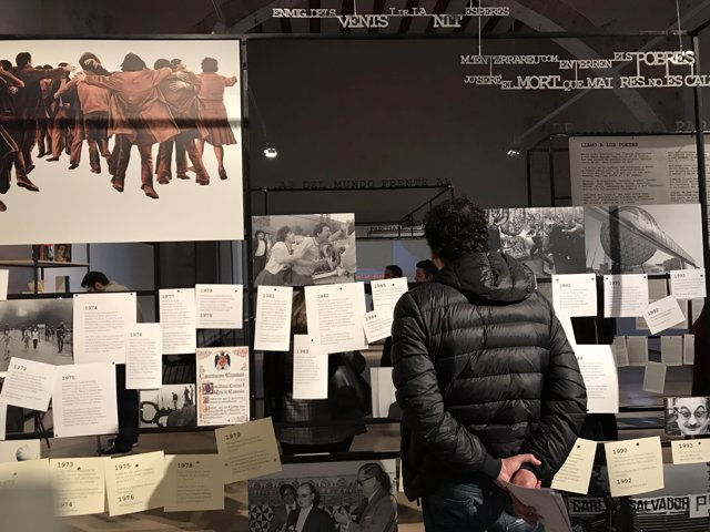 Exposición 'Miguel Hernández / Vicent Andrés Estellés' en el Centre del Carme
