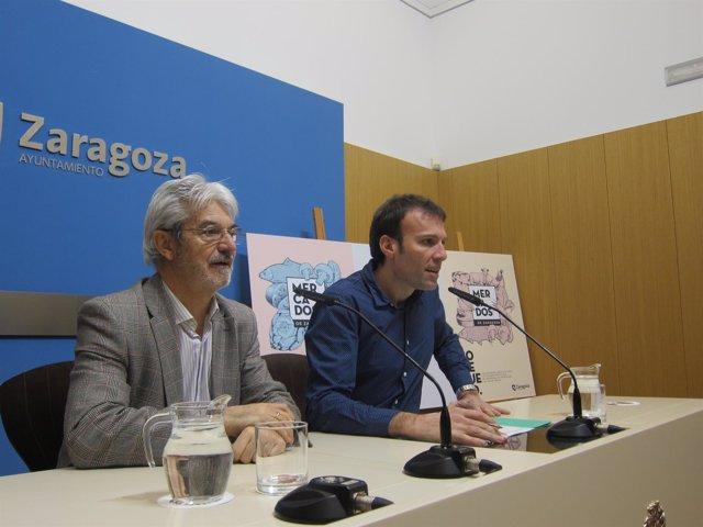 Presentación del nuevo logo de los mercados de Zaragoza