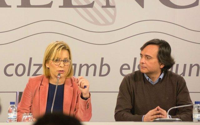 Mari Carmen Contelles en rueda de prensa