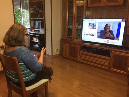 La CNSE celebra la incorporación de la lengua de signos a los servicios de teleasistencia