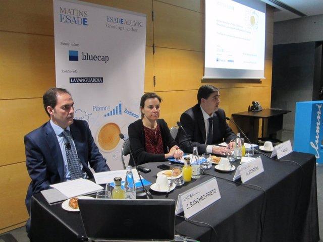 Conferencia del presidente de Vueling J.Sánchez-Prieto