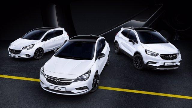Modelos Black Edition de Opel