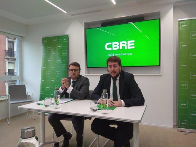 Carlos de Almeida y José Ángel Sospedra (CBRE)