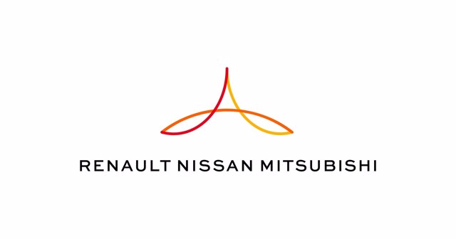 Logo de la alianza Renault-Nissan-Mitsubishi
