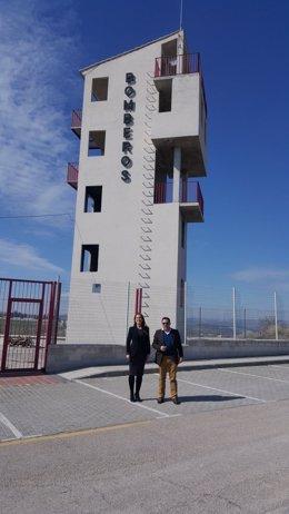 El PP reclama mejoras para los bomberos de Orcera y Peal de Becerro (Jaén)