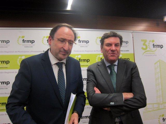 Alfonso Polanco y Fernández Carriedo, en la sede de la FRMP.