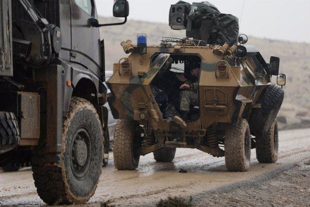 Tropas turcas en Afrin