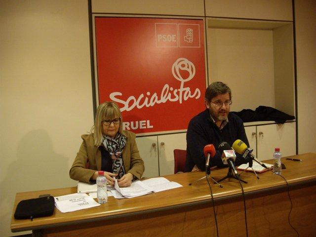 Perla Borau e Ignacio Urquizu