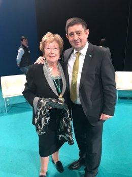 Pilar Palazón y Francisco Reyes