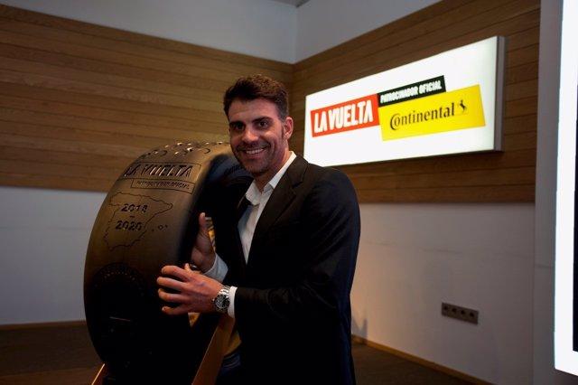 Óscar Pereiro, embajador de Continental para La Vuelta a España