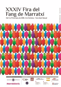 Cartel de la Fira del Fang de Marratxí 2018